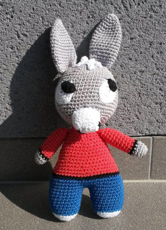 Ane Trotro Modele Patron Amigurumi Crochet by picholines on Etsy