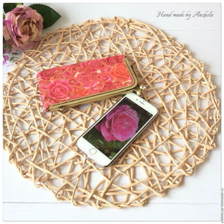 """Купить Чехол """"Розы"""" для мобильного телефона - комбинированный, цветочный, чехол для мобильного, чехол для iphone"""