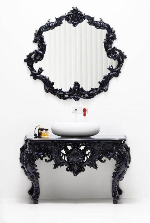 Modern Antique Bathroom Vanities, Consoles, Mirrors - Bisazza Wanders Collection   Bathroom Furniture