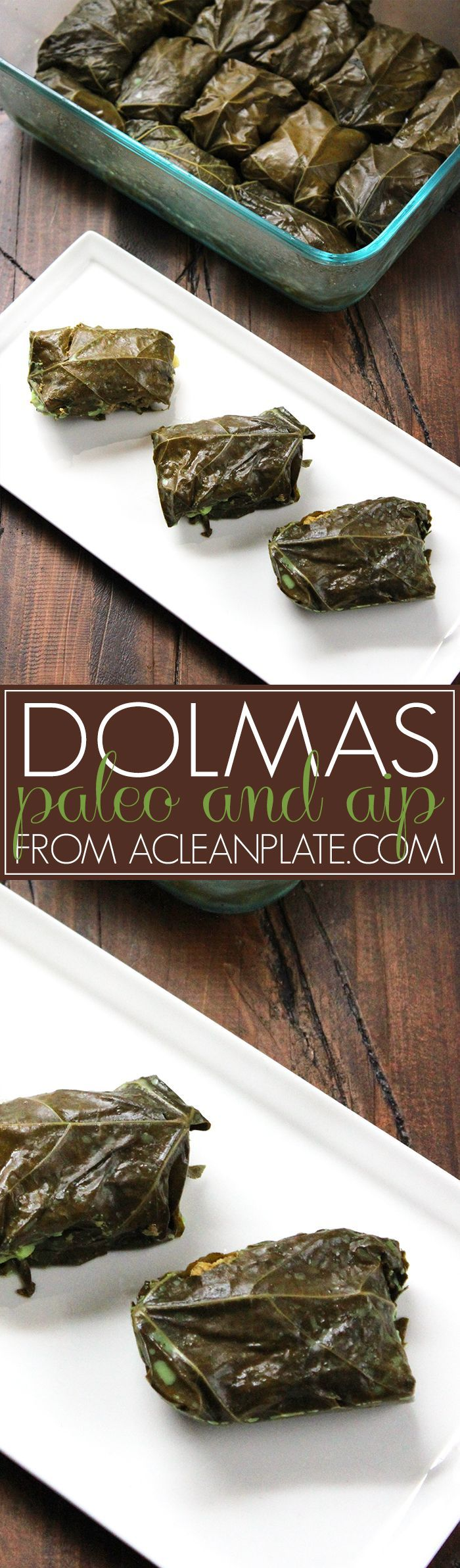 Easy Dolmas recipe from A Clean Plate