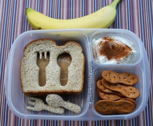 Fork Spoon PB Sandwich