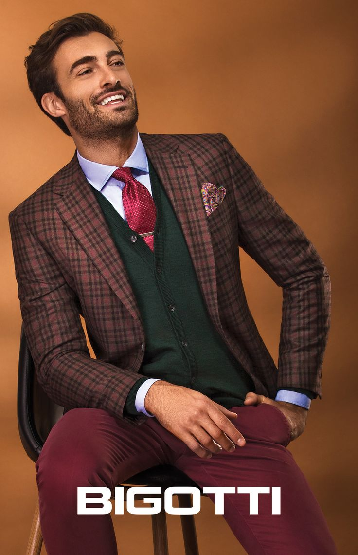 #Mixing #patterns and #layering #different #textures – #essential #tools for #creating a #modern #sophisticated #look.  www.bigotti.ro #mensfashion #moda #barbati #sacouri #blazers #ootdmen #follow #menswear #fall #toamna