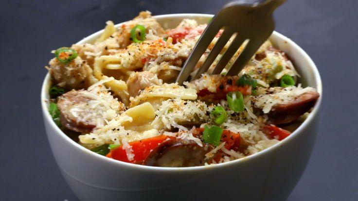 One-pot Cajun Pasta Recipe by Tasty