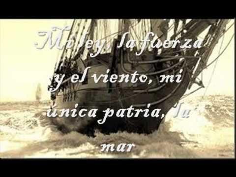 La Canción del Pirata, del autor romántico José de Espronceda, en la voz del grupo Tierra Santa. Este poema habla de la vida libre de los piratas, y del dese...