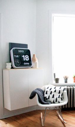 Via SFgirlbybay | Karlsson Flip Clock | Eames | Fine Little Day