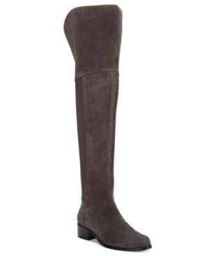 Charles by Charles David Giza Over-The-Knee Stretch Boots - Gray 6M