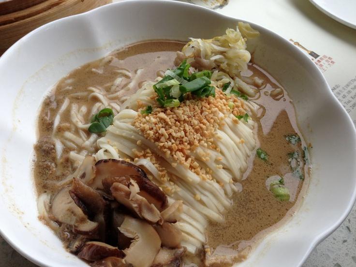 Taiwanese Style Tan Tan Noodle @ King's Dumplings