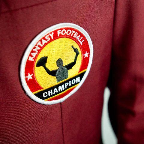 fantasy football jacket patch