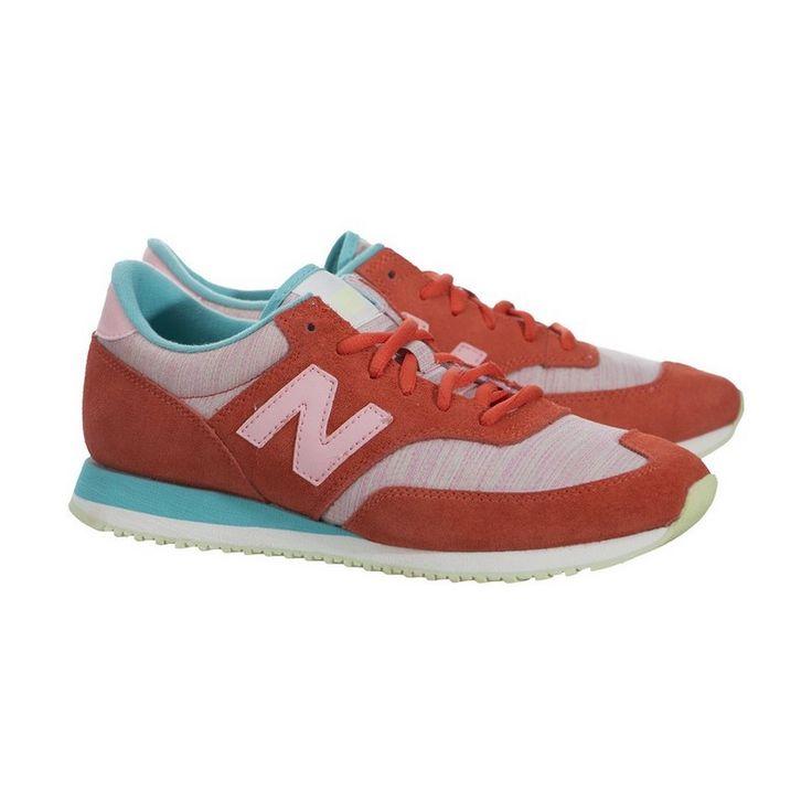 Buty Do Biegania New Balance Damskie Pomarańczowe z Niebieskie 620