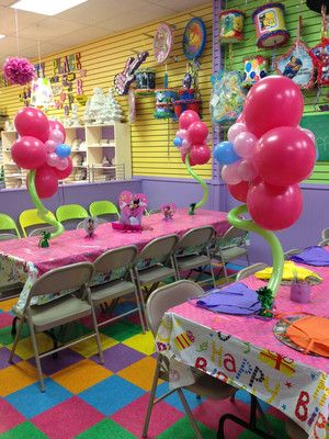 ... Birthday Party Place!  Plaster Party Place  Party Room Venue for