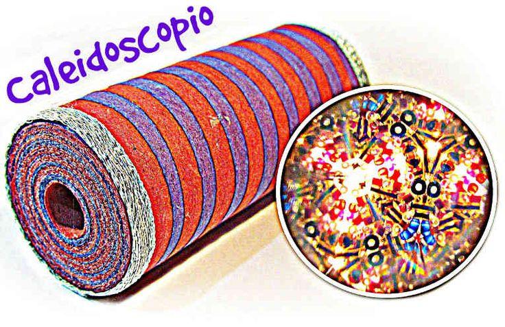 caleidoscopio casero #manualidad #reciclaje #juguete #coleidoscopio #casero