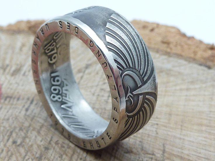 14 besten Ringe aus historischen deutschen Münzen Bilder auf