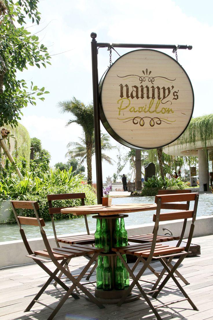 Nanny's Pavillon – Barrel Storage Beachwalk, Kuta Bali
