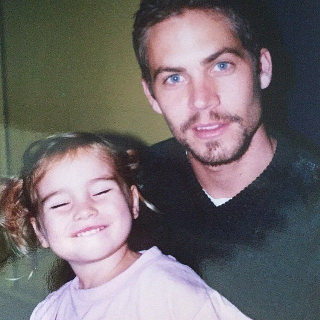 Picture of Paul Walker With His Daughter, Meadow | POPSUGAR Celebrity