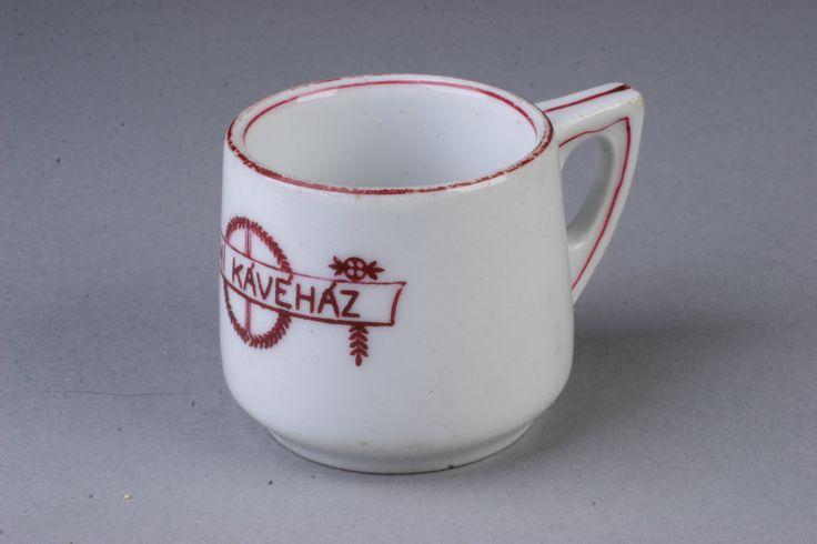 kávés csésze  [Magyar Kereskedelmi és Vendéglátóipari Múzeum]
