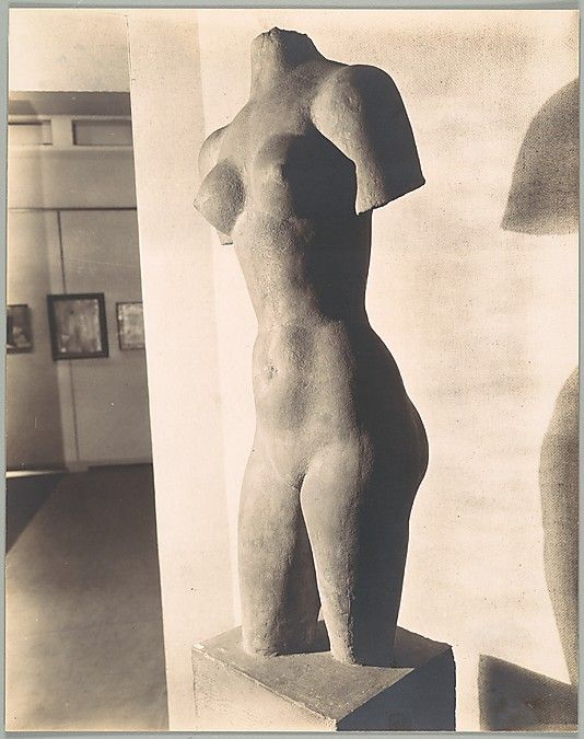 """hismarmorealcalm: """" Aristide Maillol Female Torso Photograoh by Walker Evans at The Museum of Modern Art, New York """""""