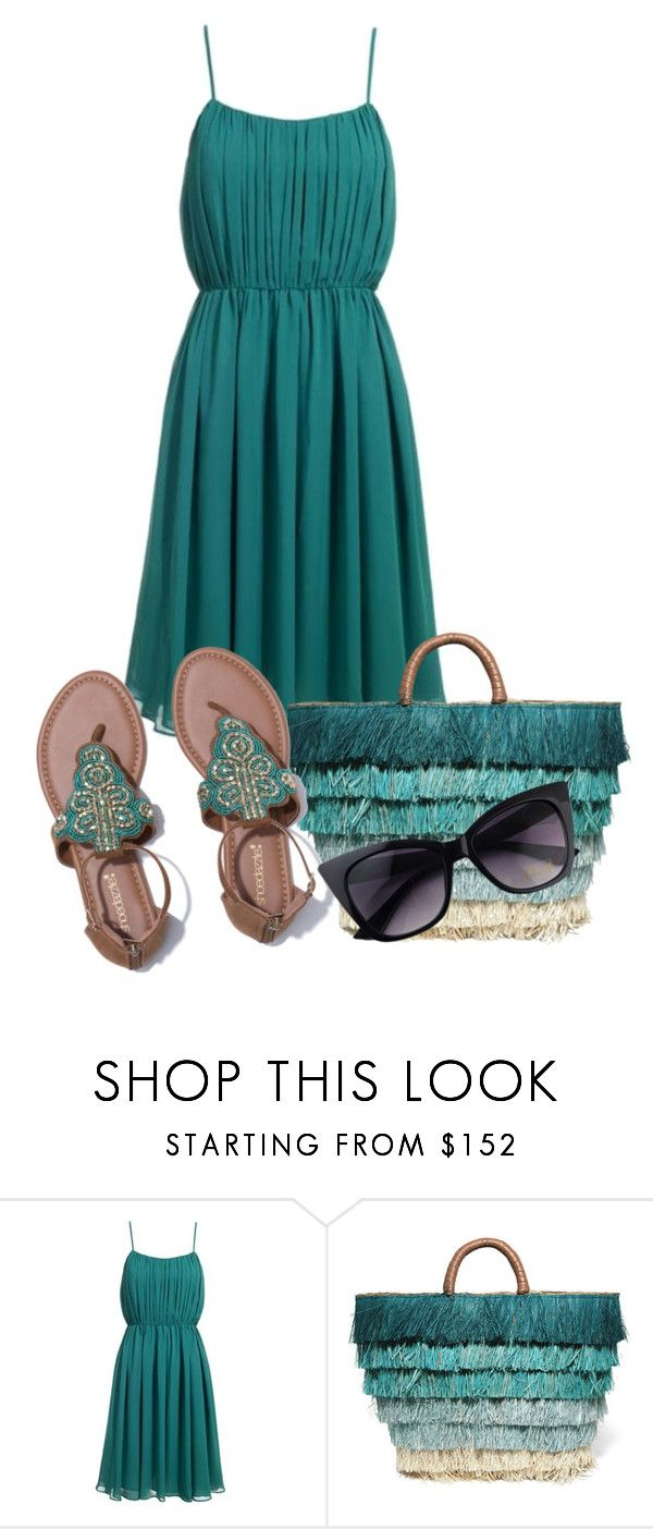 """Flat Sandals (Outfit Only please)"" by atenaide86 ❤ liked on Polyvore featuring Reiss and Kayu"