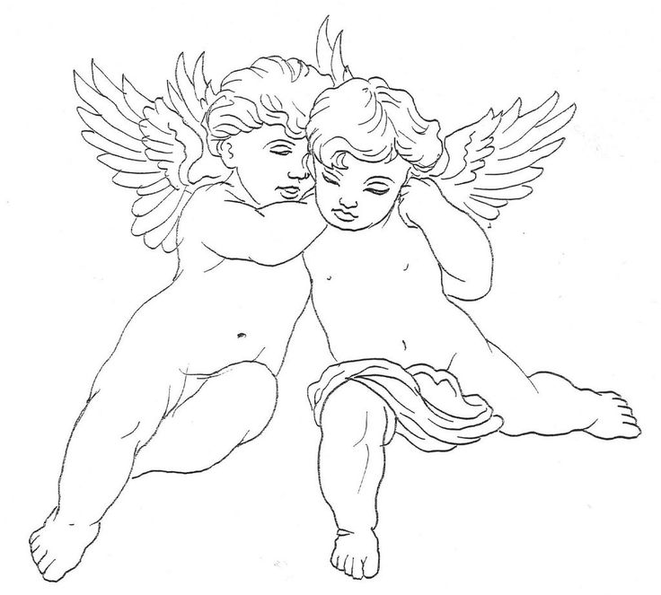 Cherub Tattoo Sample