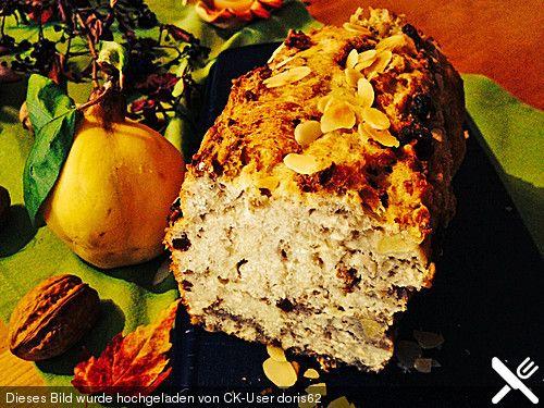 Quitten-Walnuss Kuchen