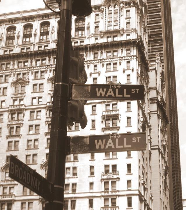 Wallstreet, Manhattan, New York city, USA
