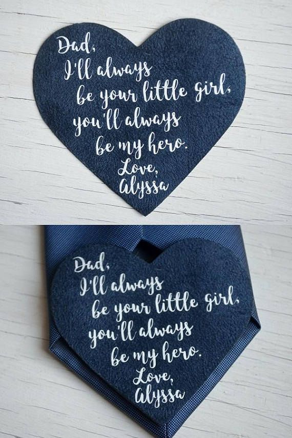 Wedding Gift For Father Of The Bride Gifts For Dads Tie Weddings