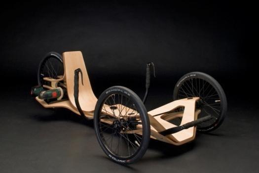 Wooden electric bicycle hybrid | Ubergizmo random