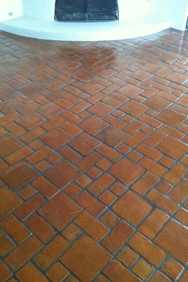 mexican tile  Flooring   Mexican tile , Terracotta Tile Tucson   Tile   Tile cleaning