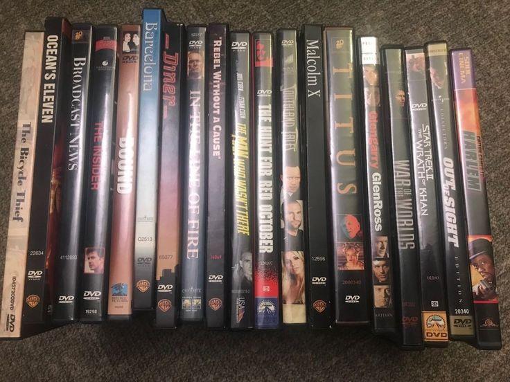 Mixed DVD lot 19 movies Bicycle Thief Ocean's Eleven Insider Bound Star Trek +++