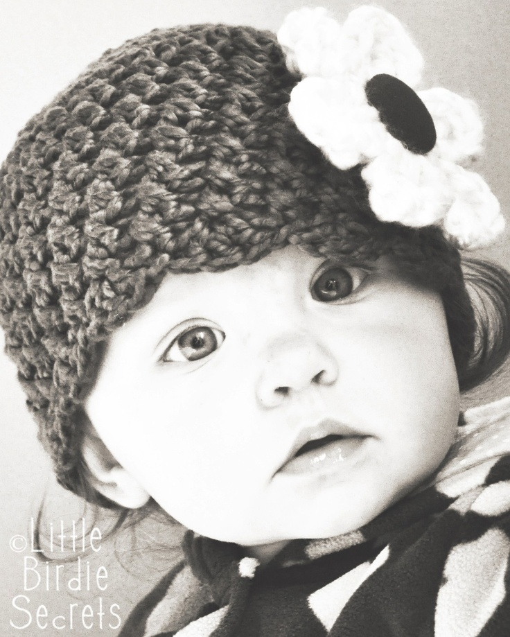 Crochet Pattern Baby Cowboy Hat Free : The Ava Cloche Crochet PATTERN Baby Hat Beanie Crochet ...