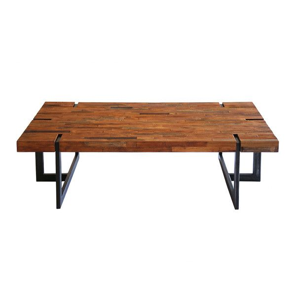 Vedel Industrial Loft Zinc Wood Rectangle Coffee Table: 1000+ Ideas About Metal Coffee Tables On Pinterest