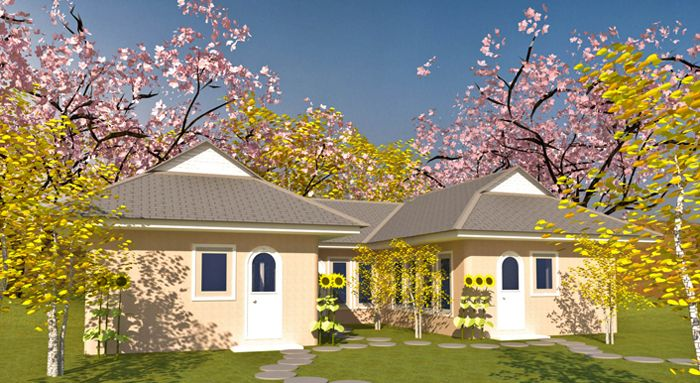 1000 ideas about u shaped houses on pinterest u shaped for Moderate house plans