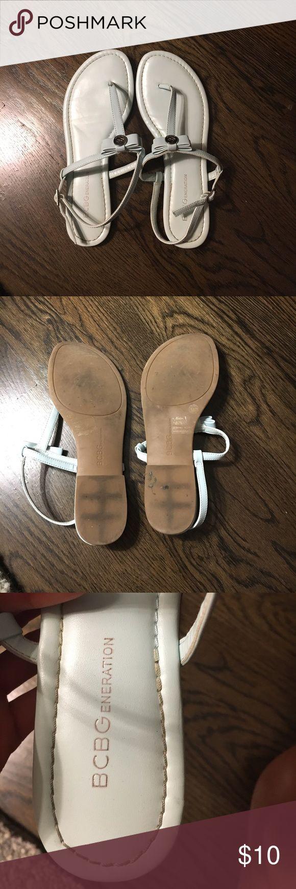 Selling this BCBG sandals on Poshmark! My username is: mpok1. #shopmycloset #poshmark #fashion #shopping #style #forsale #BCBGeneration #Shoes