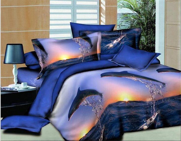 Details About 3d Bedding Set 4pcs Comforter Duvet Covers