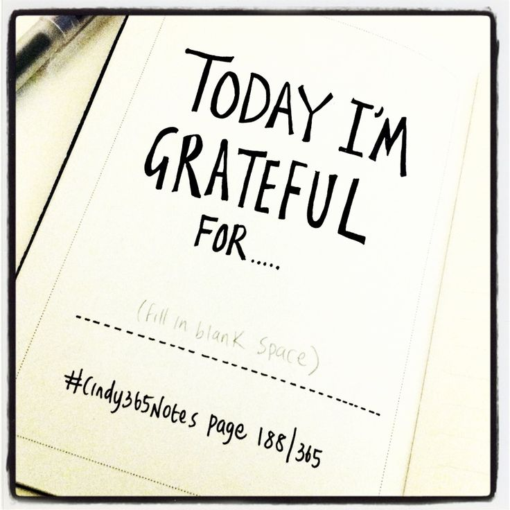 #Cindy365Notes {page 188 of 365} A good note worth eating before bedtime. What are you grateful for?
