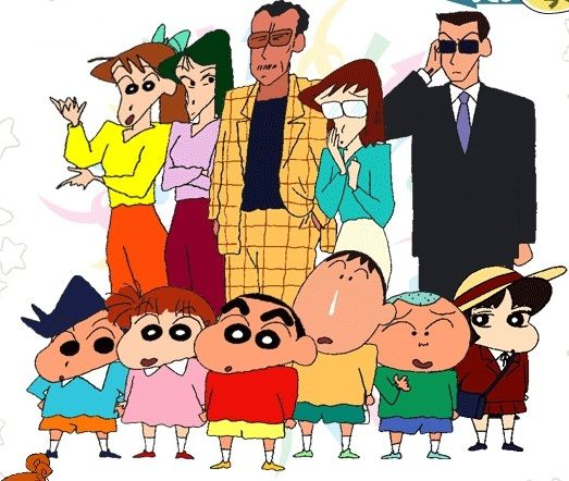 About Crayon shin chan important talking