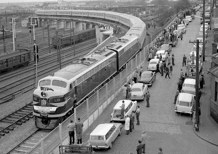 Spencer Street Station, 1962