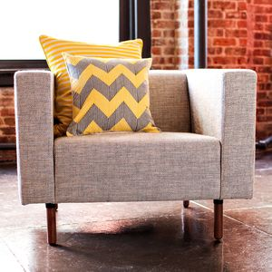 Love the gray and yellow combination