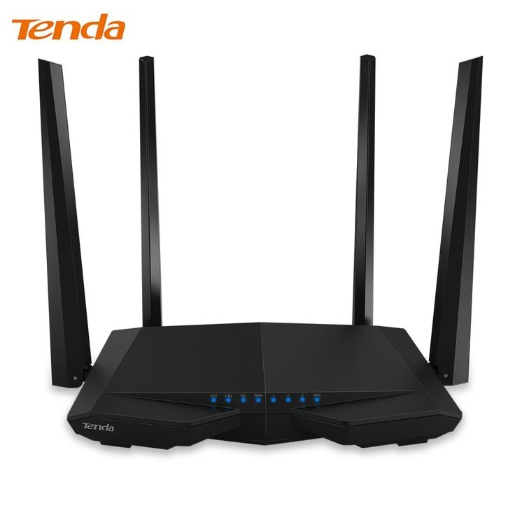 Tenda AC6 Wireless WIFI Router 1200Mbps 11AC 2.4GHz / 5.0GHz with 4 5dBi HG external Antennas Wi-Fi router //Price: $65.78      #shopping