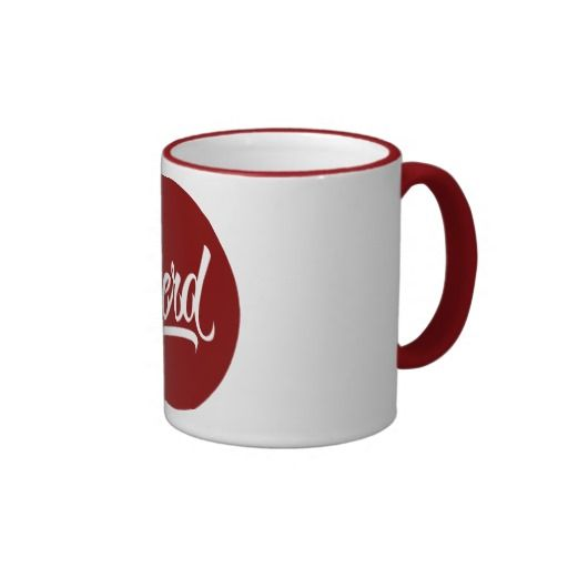 NERD COFFEE MUG available at www.zazzle.com/letterhype   #lettering #letterhype #LetteringMug #calligraphy #Geek