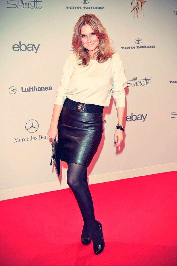 kim fisher arrives at tribute to bambi moderatorinnen. Black Bedroom Furniture Sets. Home Design Ideas