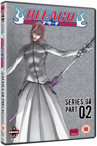 This week we have a single volume release in the form of Bleach Series 8 Part 2 from Manga Entertainment.