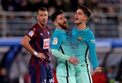 Los armeros caen ante el arma letal de Messi