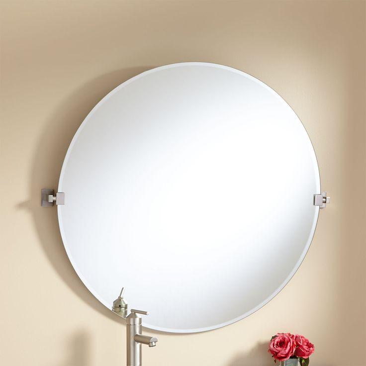 """32"""" Helsinki Round Tilting Mirror"""