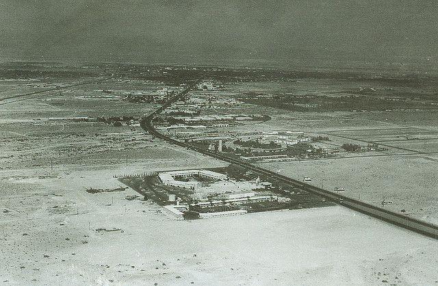 Las Vegas strip 1955!