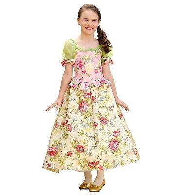 Snow-Flower-Blumen-Kostuem-Fasching-Halloween-Kinder-Girl-Costume-Maedchen-116