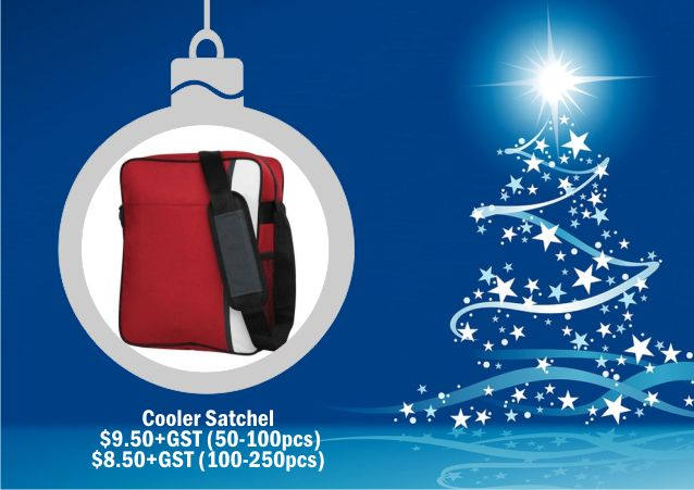 Cooler Satchel. For corporate gift ideas talk to Wizid Promotions by calling 1300 4 WIZID.