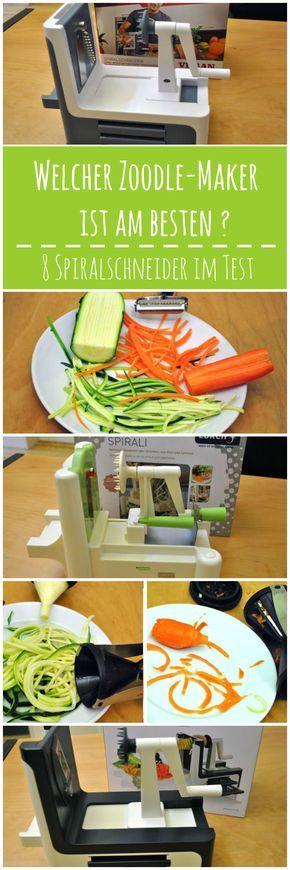 Pasta durch Gemüsenudeln zu ersetzen, liegt im Trend. Um das Gemüse schnell und einfach in Spaghettiform zu bringen, gibt es im Handel verschiedenste Schneidesysteme. Wir haben 8 Produkte von ganz einfach bis raffiniert ausprobiert und zwei klare Testsieger gefunden. Hier gehts zum Test: http://eatsmarter.de/spiralschneider-test