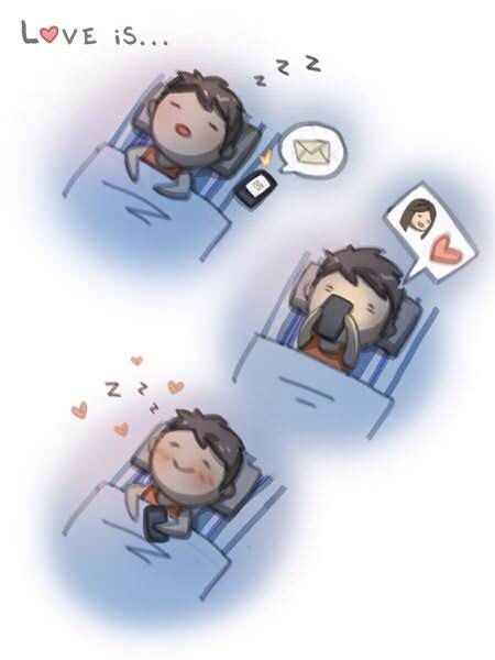 How I feel after reading a text from him.