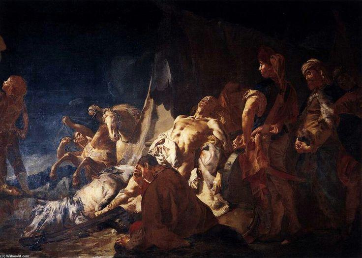 La morte di Dario. 1746. Ca' Rezzonico