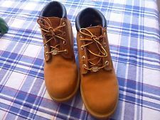 Timberland Nellie Boots Wheat Lace Up Leather Waterproof 7.5 womens